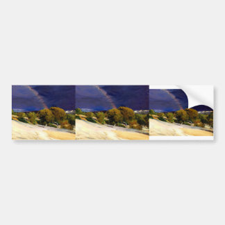 Joaquín Sorolla- The Rainbow Bumper Sticker