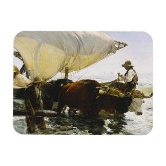 Joaquin Sorolla - The Return from Fishing Magnet