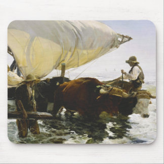 Joaquin Sorolla - The Return from Fishing Mouse Pad