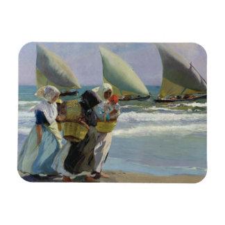 Joaquin Sorolla - The Three Sails Magnet