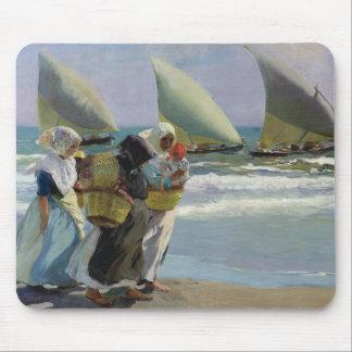 Joaquin Sorolla - The Three Sails Mouse Pad