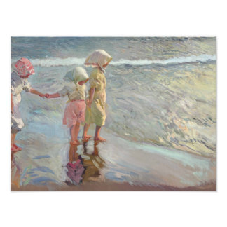 Joaquin Sorolla - The Three Sisters Photo Print