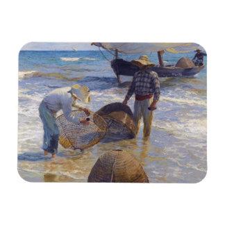 Joaquin Sorolla - Valencian Fisherman Magnet