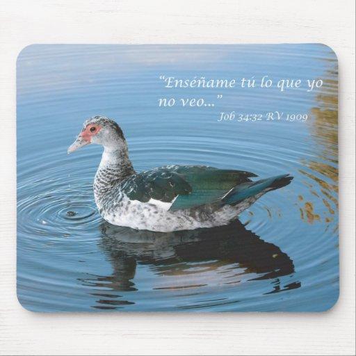Job 34:32 Almohadilla de Raton Mouse Pads