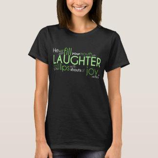 "Job 8:21 ""Joy"" Tshirt- Dark colored T-Shirt"