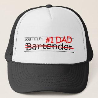 Job Dad Bartender Trucker Hat