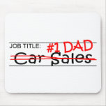 Job Dad Car Sales Mouse Pad