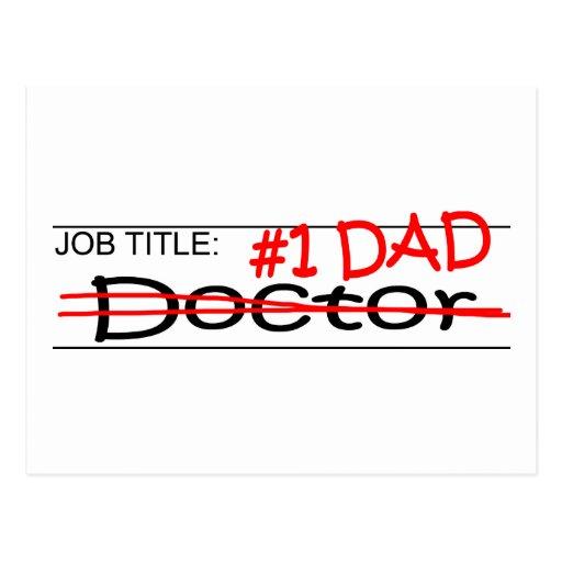 Job Dad Doctor Post Card