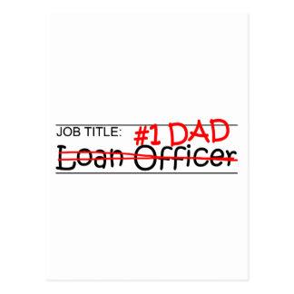 Job Dad Loan Officer Postcard