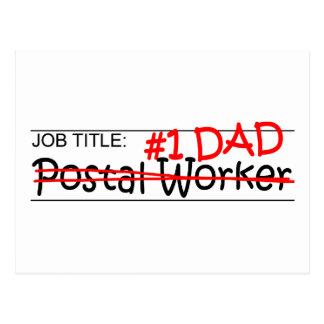 Job Dad Postal Worker Post Cards