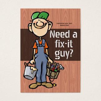 Job Hunting Handyman Fix-It Carpenter Painter