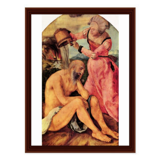 Job Mocked By His Wife By Albrecht Dürer Postcards