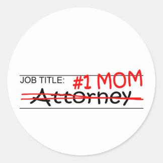 Job Mom Attorney Sticker