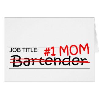 Job Mom Bartender Card