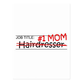 Job Mom Hairdresser Postcard