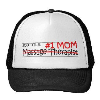 Job Mom Massage Therapist Cap