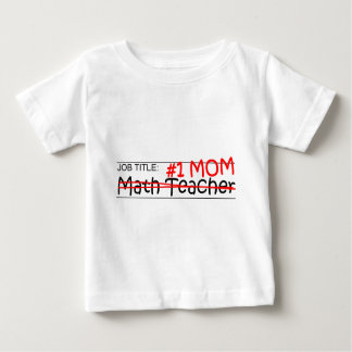 Job Mom Math Teacher Baby T-Shirt
