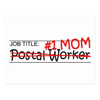 Job Mom Postal Worker Post Cards