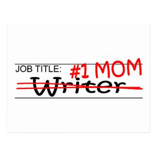 Job Mom Writer Postcard