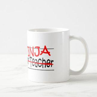 Job Title Ninja - Kindergarten Tchr Coffee Mug