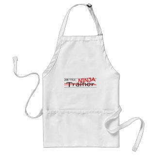 Job Title Ninja - Trainer Standard Apron