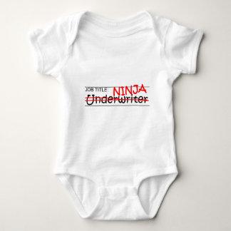 Job Title Ninja - Underwriter Baby Bodysuit