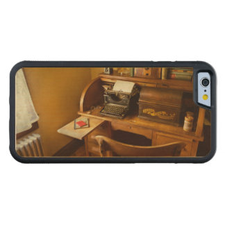 Job - Typist - A person with many interests Carved Maple iPhone 6 Bumper Case