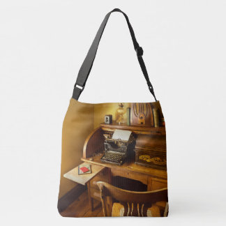 Job - Typist - A person with many interests Crossbody Bag