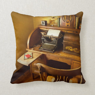 Job - Typist - A person with many interests Cushion