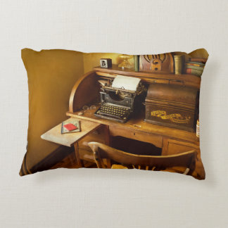 Job - Typist - A person with many interests Decorative Cushion