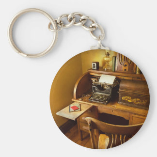 Job - Typist - A person with many interests Key Ring