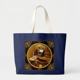 Job - Typist - A person with many interests Large Tote Bag