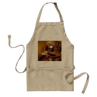 Job - Typist - A person with many interests Standard Apron