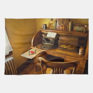Job - Typist - A person with many interests Tea Towel