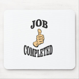 job well done art fun mouse pad
