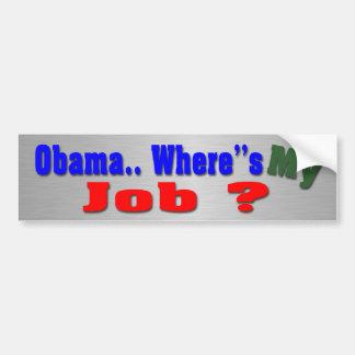 Jobs Bumper Sticker