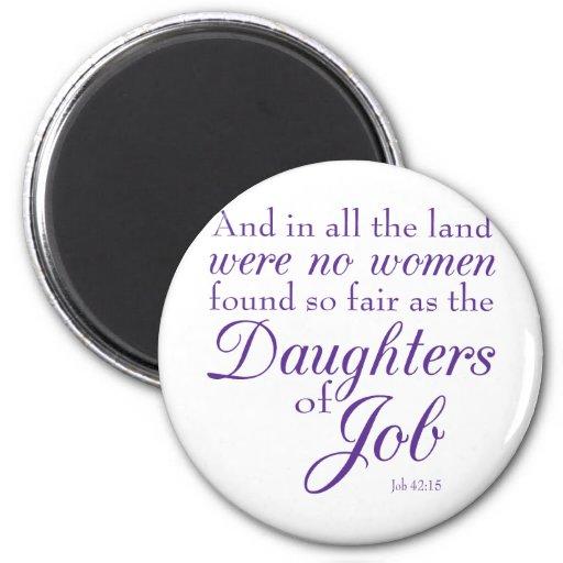 Job's Daughters Magnet