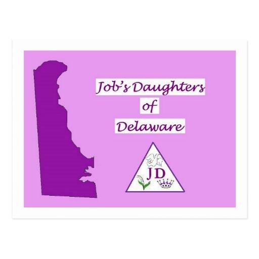 jobs daughters postcard