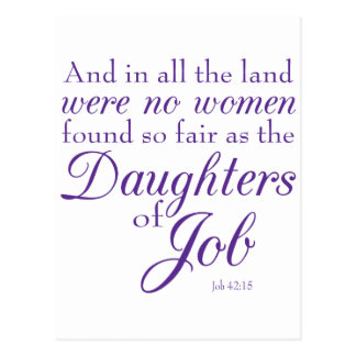 Job's Daughters Postcard