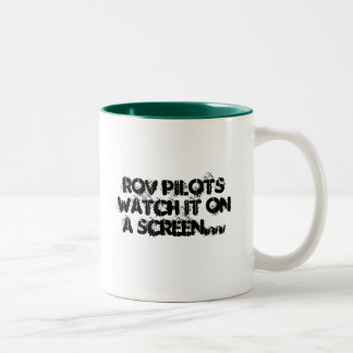 Jobs for the Yobs - ROV Two-Tone Coffee Mug