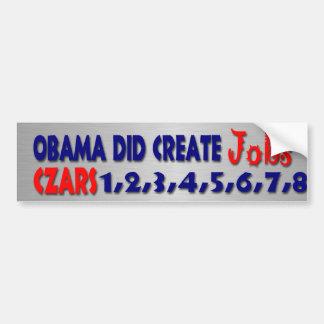 Jobs ? yeah Right Bumper Sticker