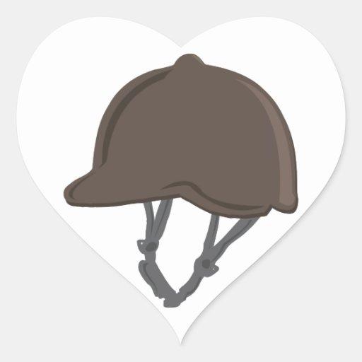 Jockey Helmet Sticker