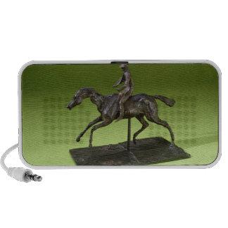 Jockey on a Horse (bronze) Laptop Speaker