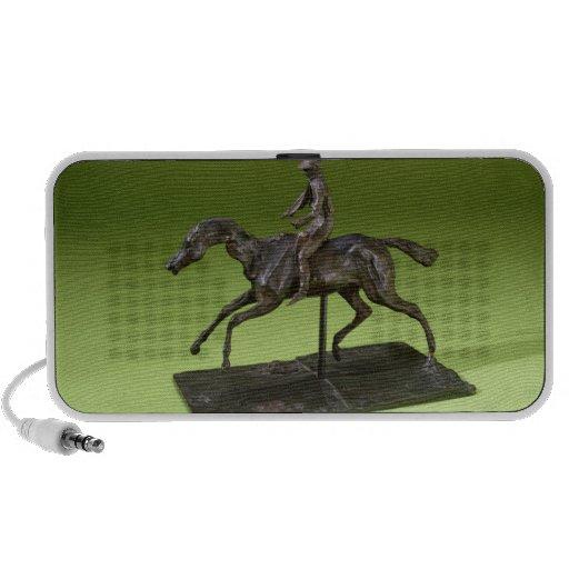 Jockey on a Horse (bronze) iPod Speakers