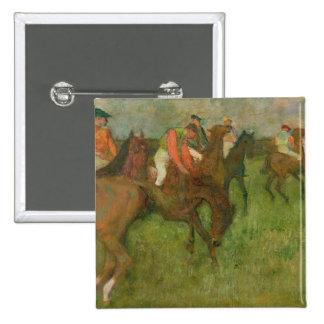 Jockeys, 1886-90 15 cm square badge