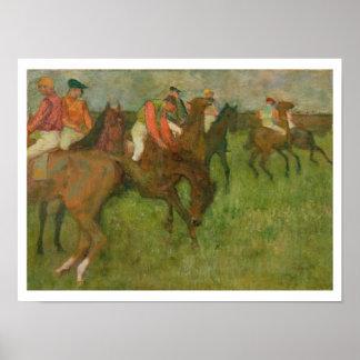Jockeys, 1886-90 poster