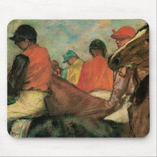 Jockeys by Degas Mouse Pad