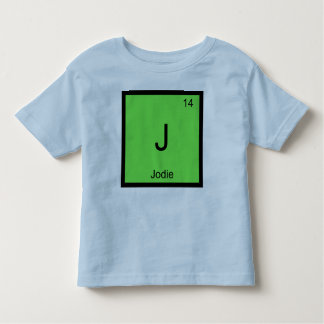 Jodie Name Chemistry Element Periodic Table Tees