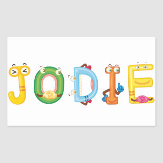 Jodie Sticker