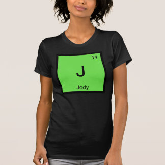 Jody Name Chemistry Element Periodic Table T-Shirt